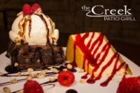 Desserts at The Creek Patio Grill