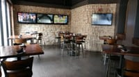 Side Bar Area at The Creek Patio Grill