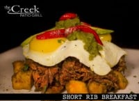 Short Rib Breakfast - The Creek Patio Grill Sunday Brunch - Cave Creek, Tatum Ranch, Phoenix