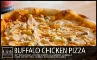 Buffalo Chicken Pizza - Specialty Pizza at The Creek Patio Grill
