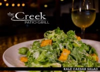 KALE CAESAR SALAD at The Creek Patio Grill