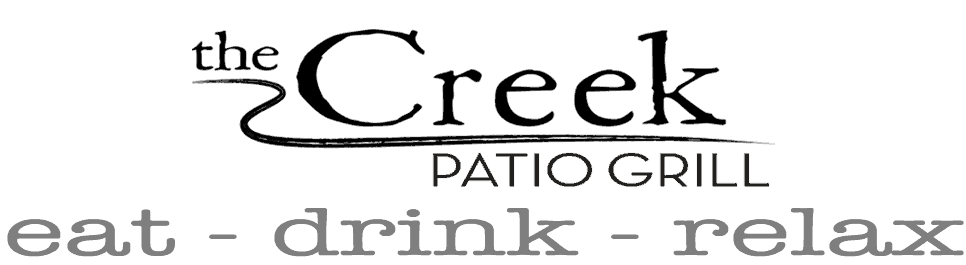 The Creek Patio Grill Retina Logo
